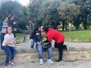 Nico e Roberta hanno condotto gli amici del club a Villa Bruno